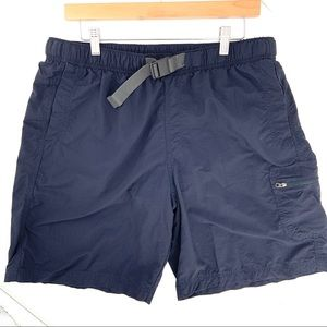 Men's Columbia Omni Shade Navy Swim Trunks Shorts